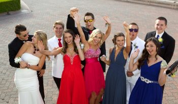 Teenagers at the Prom