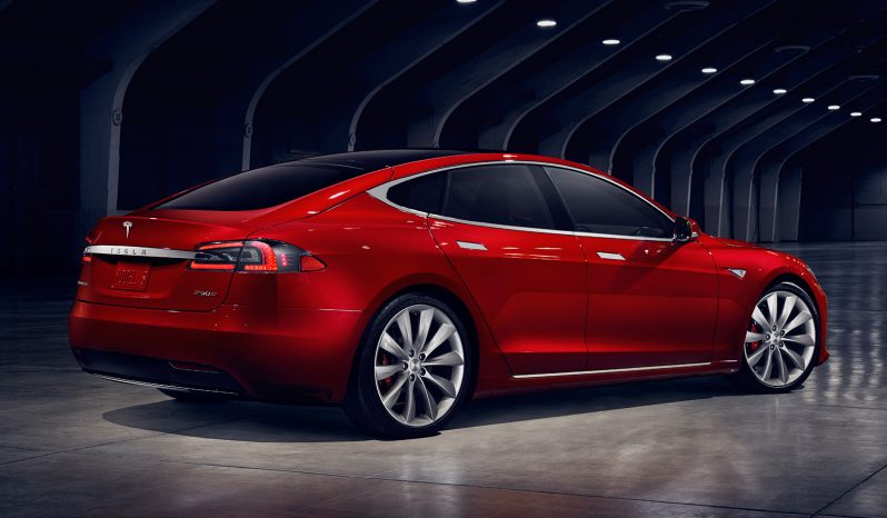 Tesla Model S 75D Rental full