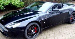 Aston Martin V8 Vantage Roadster Rental