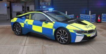 surrey police supercar