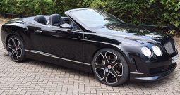 Bentley Continental GTC Cabriolet Rental