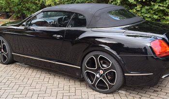Bentley Continental GTC Cabriolet Rental full