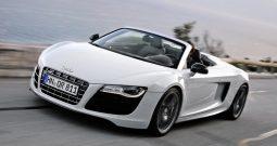 Audi R8 V10 Spyder Rental