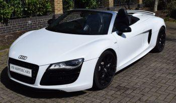 Audi R8 V10 Spyder Rental full