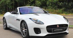 Jaguar F Type Supercharged Cabriolet Rental